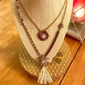 C+I 2 row necklace